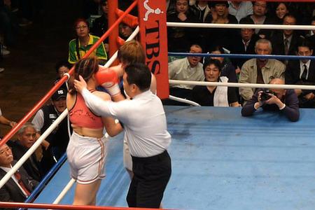 水谷智佳 vs キム・ジユン-7