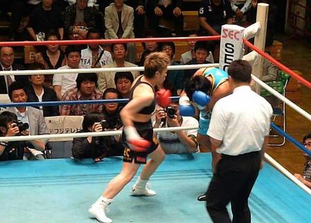 山口直子 vs ジョミシン・ゴーギアットジム