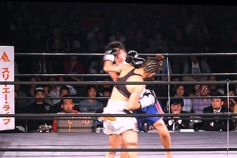 神村エリカ vs タワン・ポー.プラムック