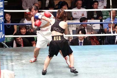 相川周子VS 野口智代
