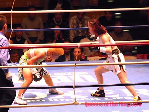 黒木優子 VS 花形冴美 �-51