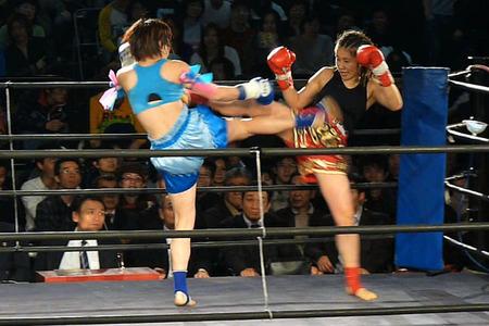 悦センチャイジム vs MITSUKI5