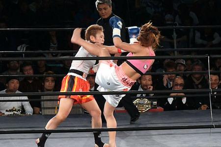 山田純琴 vs Mai-8