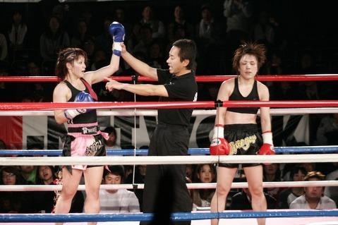 グレイシャア亜紀 vs MIKA