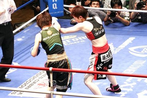 柴田直子 vs 江畑佳代子