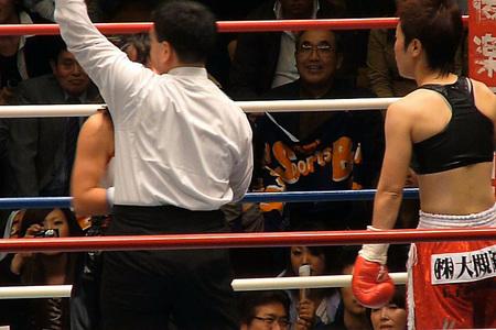 柴田直子 vs 野口智代