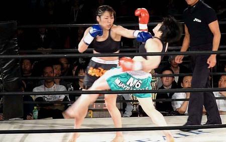 ジェット・イズミ vs 林田昌子