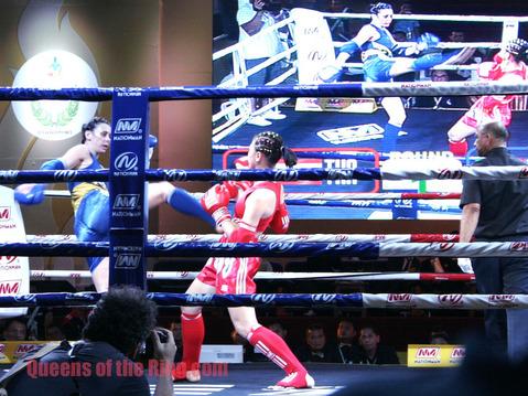 バイソン VS シャンタル・ウーギ