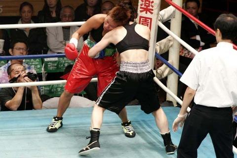 北脇絵美 vs 石川範子
