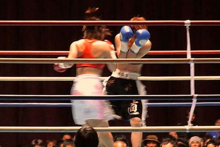 宮尾綾香 vs 柴田直子