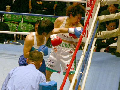 上村里子 vs 菊川未紀 4