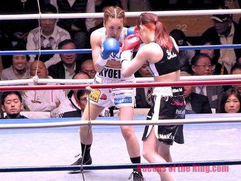 黒木優子vs神田桃子-4