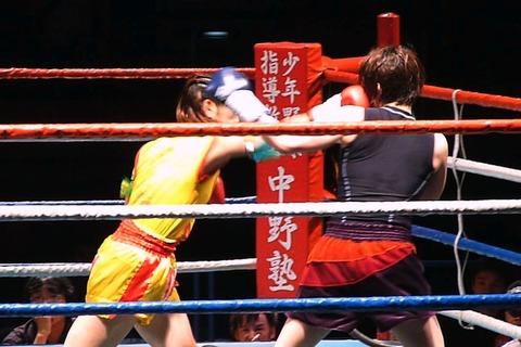 トモコSP vs 白石瑠里283-2