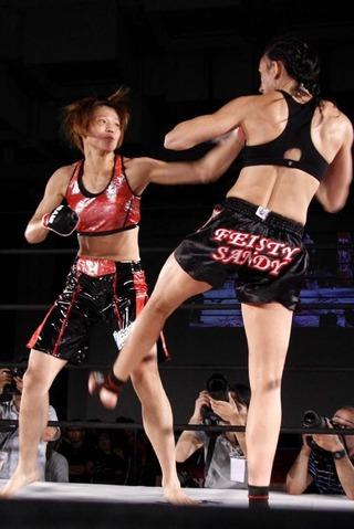 HIROKO vs サンディ・ファーナー