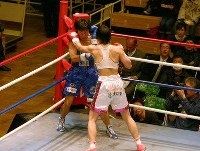 上村里子 vs 菊川未紀 6