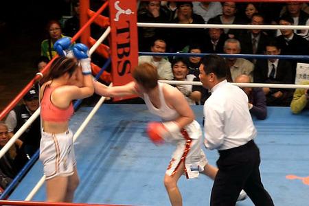 水谷智佳 vs キム・ジユン-6