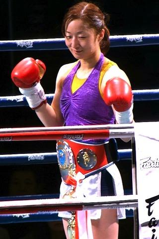 安倍基江選手