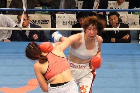 水谷智佳 vs キム・ジユン-3