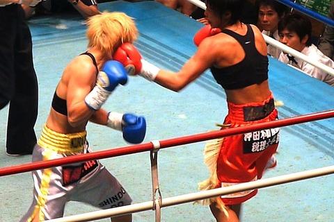 四ヶ所麻美 vs 真道ゴー
