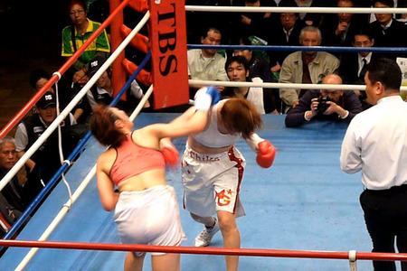 水谷智佳 vs キム・ジユン-5