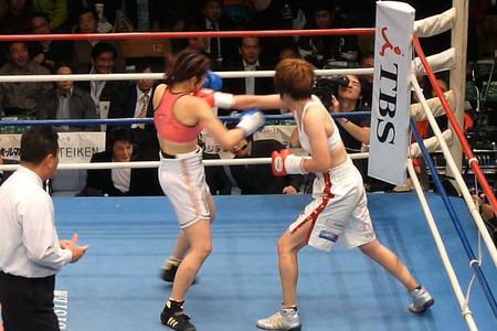 水谷智佳 vs キム・ジユン-4