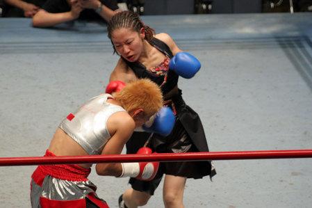 花形冴美vs相川周子3R1
