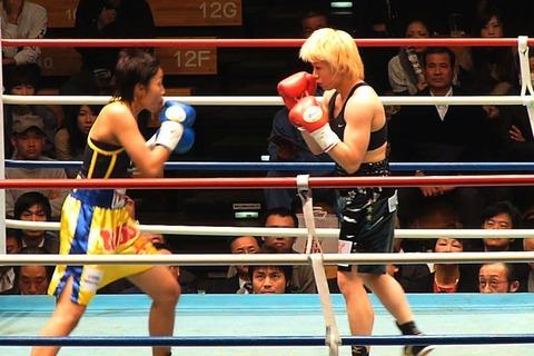 山口直子 vs ローナロンノイ