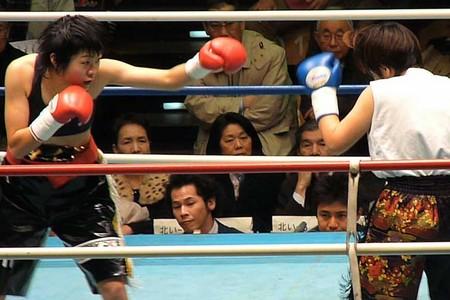 カイ・ジョンソン vs 藤本奈月