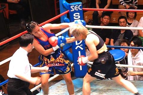 山口直子 vs リアントン