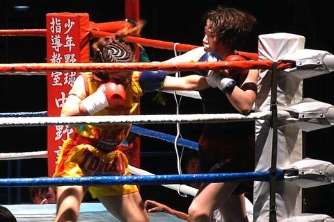 トモコSP vs 白石瑠里283-3