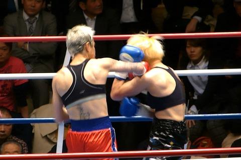山口直子 vs カンディ・サンドバル