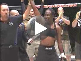 ホールバック選手MMA