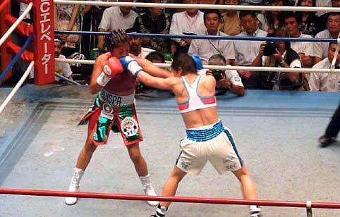 菊地奈々子 vs アナベル・オーティス