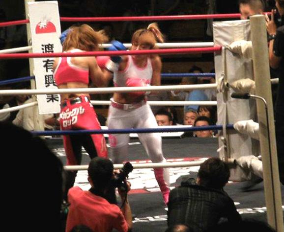 富田美里対藤井惠2ラウンド
