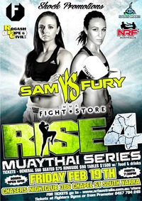 RISE MUAY THAI SERIES 4