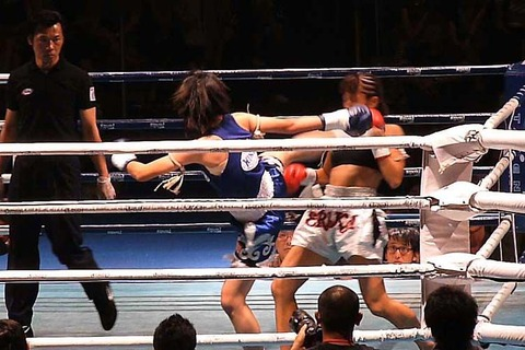 神村エリカ vs ノングネーン