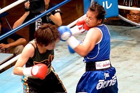 江畑佳代子 vs マイムアン