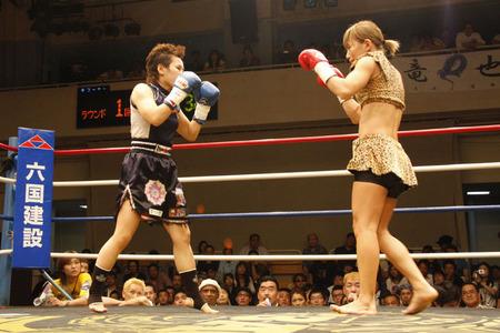 山田純琴 vs 渡辺久江