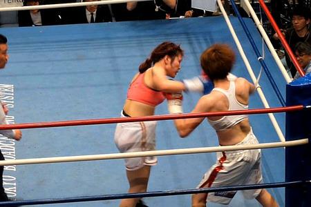 水谷智佳 vs キム・ジユン-8