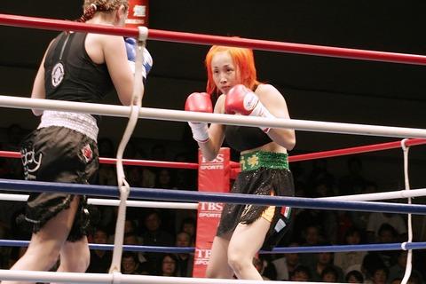 藤本りえ vs ミッシェル・プレストン