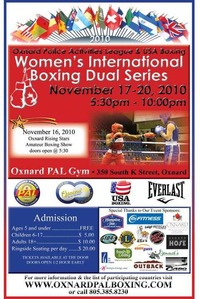 Women's International Boxing Dual Series