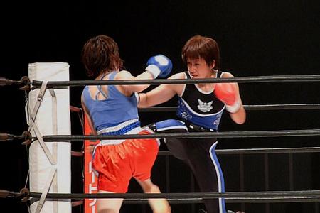 大沼慶子 vs 西田恵理