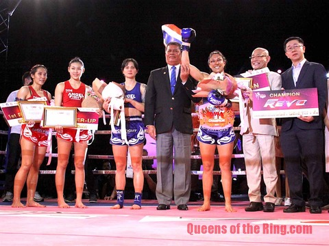 WORLD MUAY THAI ANGELS season 2 Grand Final