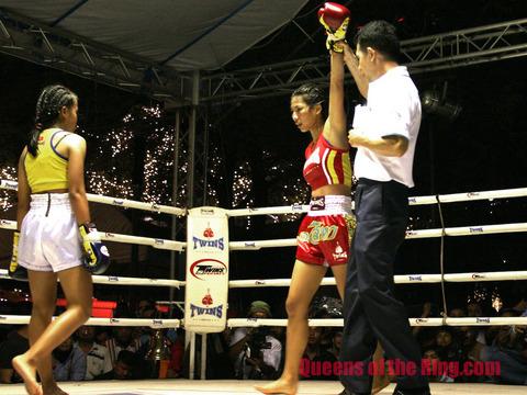 Taktaem wins on points