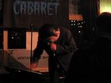 Frank plays keyboard