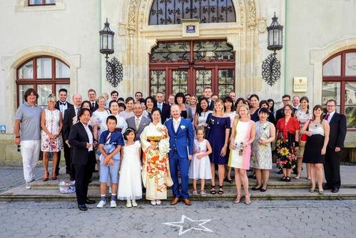 着物 de 結婚式 in ウィーン