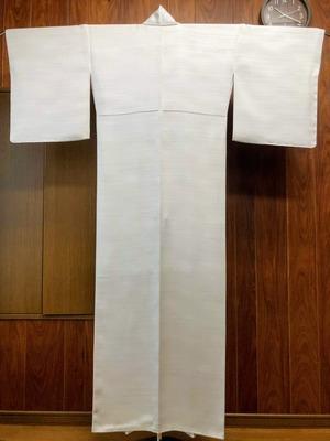 袷衣のスリム仕立て