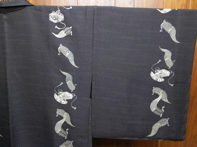 小糸染芸の粋な羽織