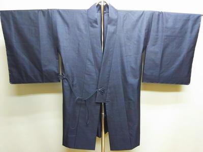 和歌山市 K.A 様 大島単衣+着物衿道中着/お仕立て