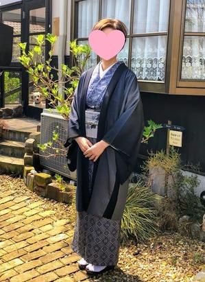 兵庫県三田市 K.T 様 シースルー羽織/お仕立て
